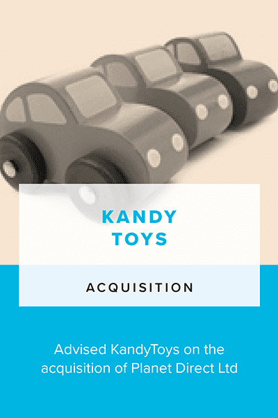 Kandy Toys - Acquisition
