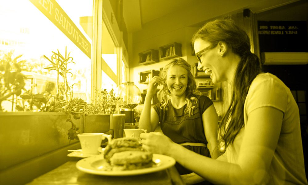 Women-in-cafe-yellow