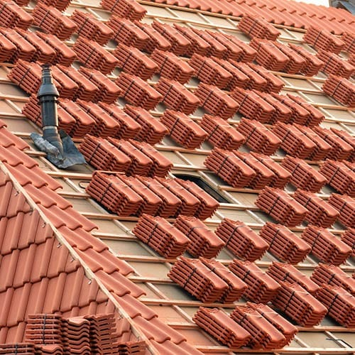 Roof tiles ready to install - cis tax advice image