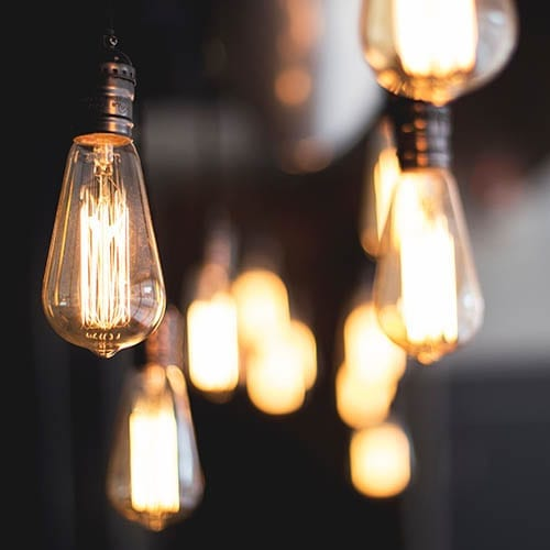 Tax Consultancy Image - Light Bulbs