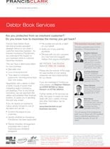 Debtor Book Services Factsheet
