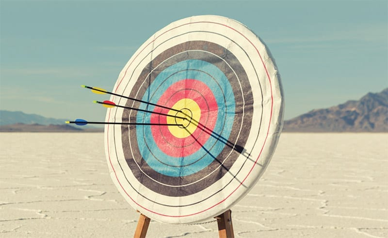 Three Arrows In A Bullseye