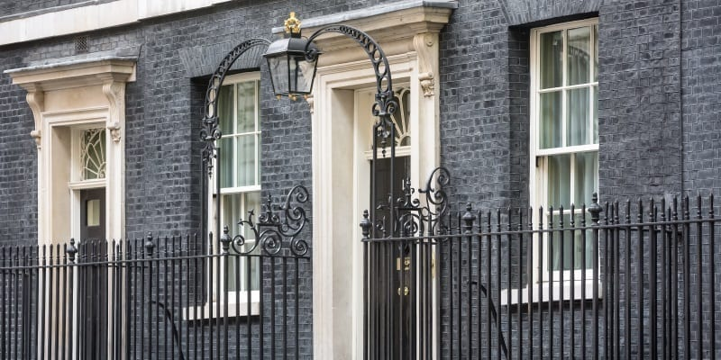 Exterior Photo Of 10 Downing Street