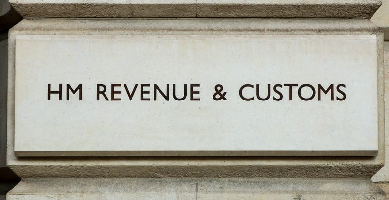 Hm Revenue & Customs Stone Sign