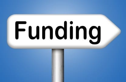 Graphic Funding Sign