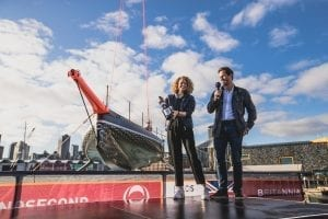 INEOS Team UK christens its boat for the 2021 America's Cup